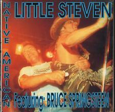 "LITTLE STEVEN - RARO CD ITALY ONLY 1994 "" NATIVE AMERICAN "" BRUCE SPRINGSTEEN"