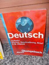 Deutsch: Aufsatz: Bericht, Beschreibung, Brief, 5./6. Klasse, Übungsbuch