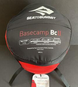 Customer Return w/tags - Sea To Summit - Basecamp BCII - Sleeping Bag - Long