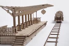 Piattaforma ferroviaria ugears-Meccanico In Legno Modello Kit 70013