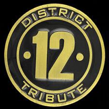 District 12 Hunger Games Logo Symbole Art Livre Film Fan Rare 2000s Belt Buckle