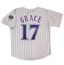 Mark Grace Arizona Diamondbacks Grey Road Throwback Men's Jersey (M-2XL)