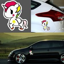 Waterproof Vehicle Decoration Car Stickers Cartoon Auto Window Decal Unicorn