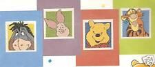 PUNTO DE CRUZ Tarjetas Pooh & Amigos Regalo Tarjetas 4 Kit