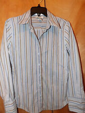 WOOLD NAVY STRETCH  LONG SLEEVE WOMEN NICE DRESS  CASUAL SHIRT TOP SIZE MED