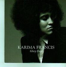 (CX746) Karima Francis, Glory Days - 2012 DJ CD