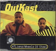 OUTKAST - Atliens/Wheels of steel - CDs SINGLE 1997 4 TRACKS NEAR MINT CONDITION