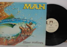MAN Slow Motion LP Vinyl 1974 United Artists Psych Classic Rock Plays Well VG+
