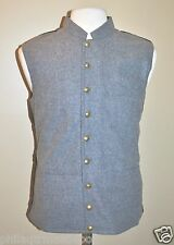 """CSA"" Vest Gray - Size 44 - Civil War"