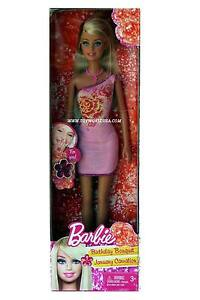 Birthday Bouquet January Carnation Barbie Doll