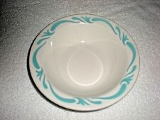 "JACKSON CHINA BOWL BLUE WHITE 6 1/2"" GREAT CONDITION #57"