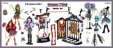 Monster High FREAK DU CHIC Circus Scaregrounds COMPLETE EXCLUSIVE 7 Doll Set NEW