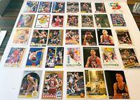 Giant Chris Mullin Lot: 55 Cards, PSA Ready, Base+Series, HOF, UD/Topps/Fleer