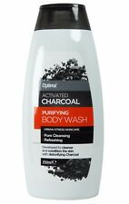 Optima Activated Charcoal Purifying Body Wash 250ml - Paraben & SLS Free
