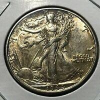 1944-D SILVER WALKING LIBERTY HALF DOLLAR BRILLIANT UNCIRCULATED