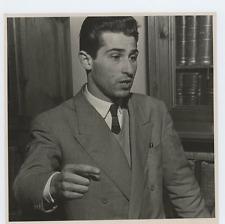 Giovanni Fora, avvocato Vintage silver print Tirage argentique  15x15  Cir