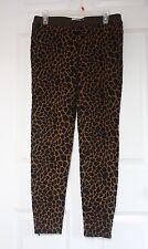 HI-LINE Madewell Large L Wildprint Giraffe Leggings Pants Ankle Zip 17151