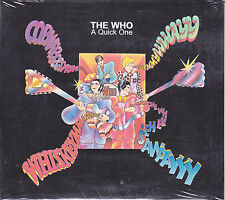 CD ♫ Compact disc «THE WHO ♪ A QUICK ONE» nuovo digipack