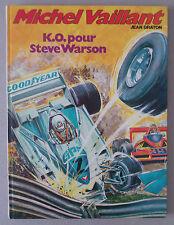 GRATON  ***  MICHEL VAILLANT 34. K.O. POUR STEVE WARSON  ***  EO 1979