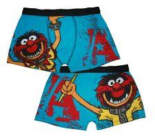 Muppets - Tier - A Star - Herren Boxer Shorts Mit Vorne & Hinten Aufdruck