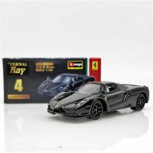 Bburago 1:64 Eternal Ray Ferrari Enzo black Diecast Model Car