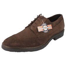 Lambretta Mens Lace Up Shoes M-82 Black, Brown or Cognac UK 8X12  (R22G)