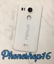 Original LG Nexus 5X Akkudeckel Deckel Backcover Cover NFC LED Kamera Glas Weiß