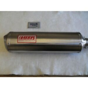 TRIUMPH SPEED TRIPLE EXHAUST HARRIS WORKS COLLECTION SLIP ON ROAD LEGAL 1998/01