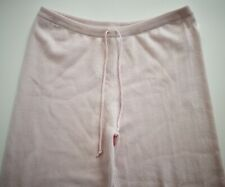 $650 New TSE CASHMERE Misty Rose 100% CASHMERE Knit Casual Lounge Pants XL