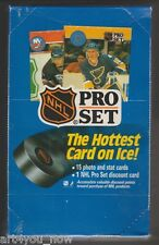Hockey NHL Team cards 1990 Series 1 Pro Set Box of Cards Sealed