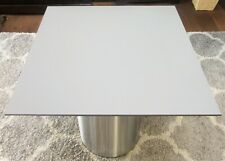 HPL Platte Tischplatte 8mm Mid Grey beidseitig 760 x 693 mm TRESPA® Meteon®