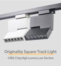 12W Modern LED Track Light COB Rail Ceiling Spotlights Lamps 220V Shop Lighting