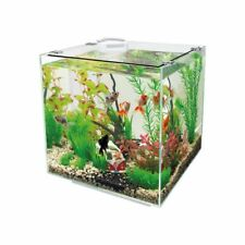 Superfish QubiQ 30 White - 30L Nano Cube Aquarium Fish Tank Set with Filter