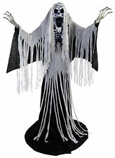 HALLOWEEN LIFE SIZE ANIMATED TOWERING WAILING SOUL PROP DECORATION HAUNTED