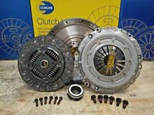 FOR PASSAT AUDI A4 A6 1.9 TDI AWX 130BHP DUAL to SOLID MASS FLYWHEEL CLUTCH KIT