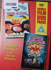 CABBAGE PATCH KIDS & GALAXY RANGERS OOP RARE DELETED REGION 2 PAL DVD ANIMATION