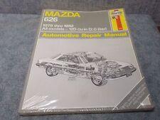 MAZDA 626 1979-1982 2.0 liter Haynes Repair Manual 648