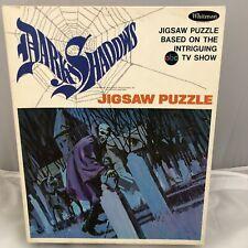 Dark Shadows 1969 Jigsaw Puzzle ABC TV Show  Whitman