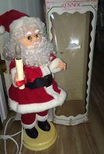 VINTAGE RENNOC SANTA  The Original Animated & Motionette Little People Santa