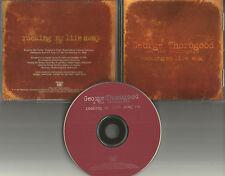 GEORGE THOROGOOD Rocking My Life Away 1997 USA PROMO Radio DJ CD Single MINT