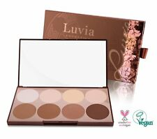 Luvia Cosmetics Contouring Palette - Make-Up Palette - Kontur, Highlighter...