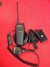 Refurbished Motorola CP200 UHF 438-470Mhz 4 Ch Business Radio AAH50RDC9AA1AN