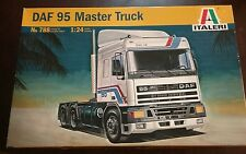 Italeri 788 1/24 Scale DAF 95 Master Trailer Truck Model Kit #41