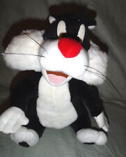 "Sylvester Looney Tunes Talking Cat 11"" Plush Soft Toy Stuffed Animal"