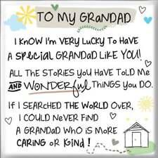 WPL Inspired Words Magnet To My Grandad - New - IWG1118
