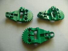 Lego 3 engrenages verts set 8505 8446 / 3 green Technic, Gearbox Half