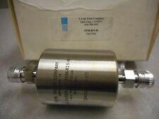 T.E.M. FILTER TEM-815-M GAS FILTER 5.0IN LG 1/4IN VCR MALE TEFLON MEMBRANE