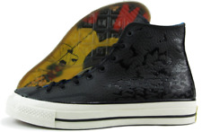 Converse Batman DC Comics '70 Chuck Taylor $125 155358C Black Leather Mens US 8