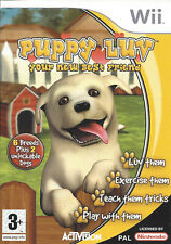PUPPY LUV for Nintendo Wii - with box & manual - PAL