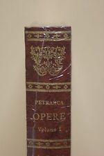 Petrarca - Opere - volume I - Edizione Zenit - SIGILLATO